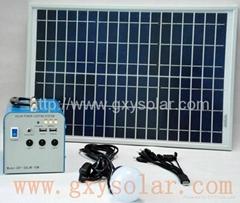 15W太阳能发电系统