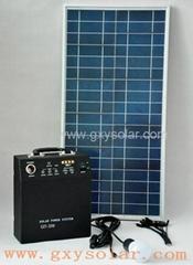 30W太阳能发电系统