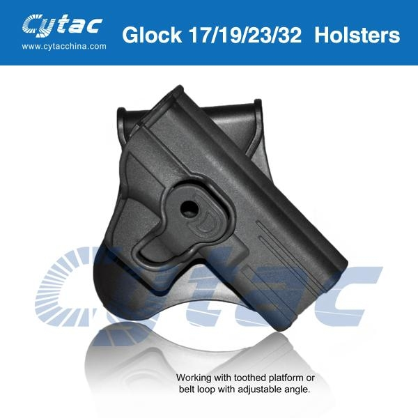 Glock holster - CY-G19 - Cytac (China Manufacturer) - Safety
