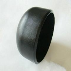 plumbing material pipe fitting carbon steel cap