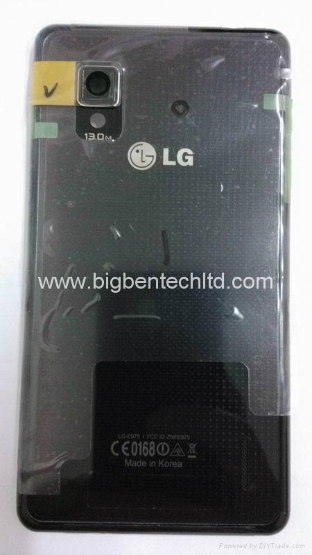 battery door back cover rear housing for LG Optimus G E973  1