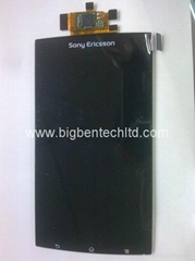 LCD screen with touch panel digitizer assembly for Sony Ericsson LT18i