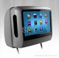 9 Inch Car Headrest TFT LCD Monitor With DVD Player 3