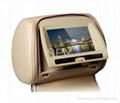 Car TFT DVD Headrest Monitor LCD Player