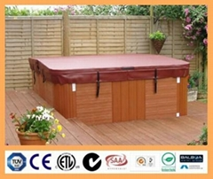 Distinguished series 8 person jacuzzi acrylic outdoor spa hot tub