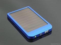 Hot  sale universal solar powerbank 2600mAh 0.4W panel for phone series