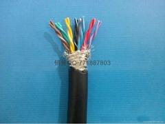 耐彎曲8對16芯信號雙絞屏蔽拖鏈專用電纜線