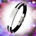cheap silicone chain bracelet