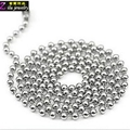 stainless steel ball chain necklace