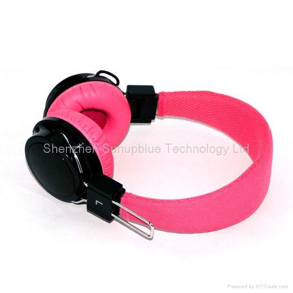 High quality Cheap bluetooth headphones with fm radio ...