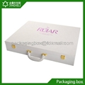 cosmetic perfume leather cases boxes