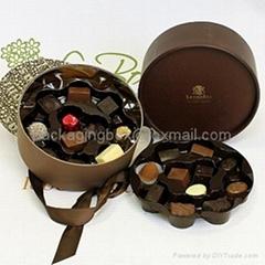cardboard chocolate packaging boxes customed