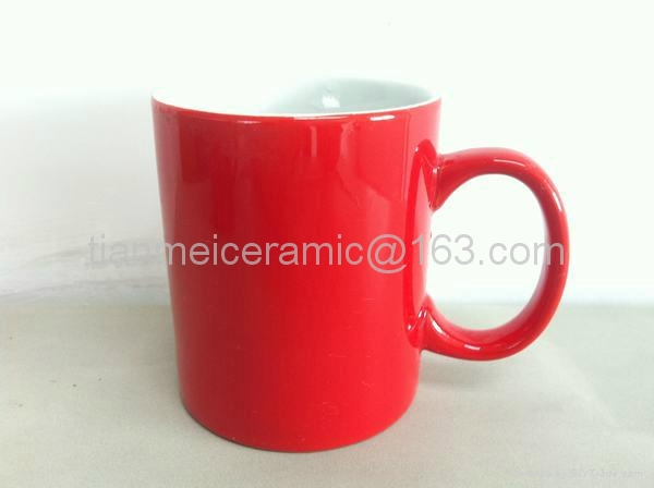 11安士色釉杯 1