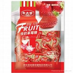 Milk Strawberries Fruit made in China