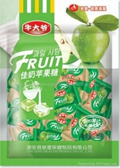Milk apple Fruit Juicy Candies made in China