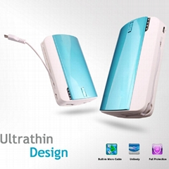 Dual USB Battery iPhone 11200mAh Power Bank With LED Light