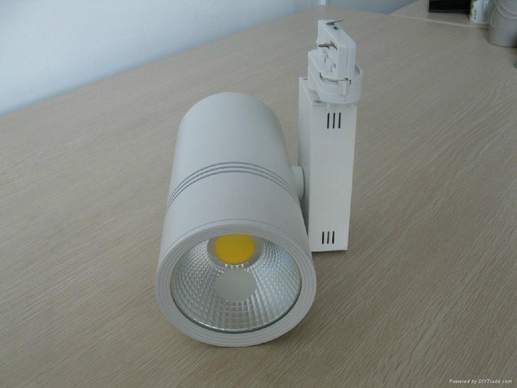 full white LED Track Light 20w 1