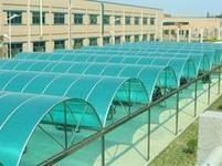 钢结构耐力板雨棚