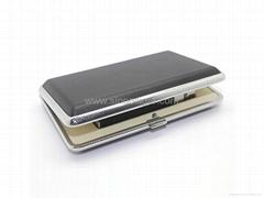 Electronic cigarette portable leather case