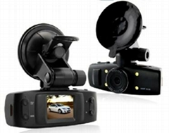 1.5 inch 120 degree angle car dvr camera with GPS