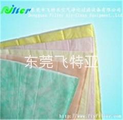 多层无纺布袋式过滤材料