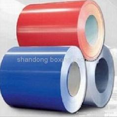 prepainted steel coils (PPGI)