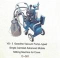 Vacuum Pump-typed Advanced Moblie Milking Machine(gasoline,diesel) 2