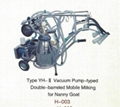 Vacuum Pump-typed Advanced Moblie Milking Machine for Nanny Goat 3