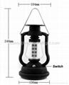 16 LED Solar Crank Dynamo Camping Lamp 2