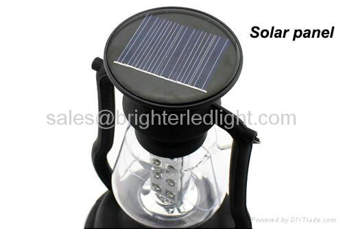 16 LED Solar Crank Dynamo Camping Lamp 3