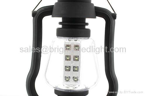 16 LED Solar Crank Dynamo Camping Lamp 4