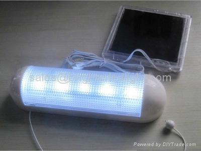 5 LED Solar Wall Lamp 1