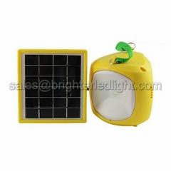 Portable Split Type Solar 1W LED Camping Light Lamp Lantern