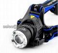 Zoom CREE T6 Super Bright LED Headlamp