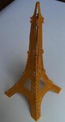 Hot sale laser cut 3D card tower deco