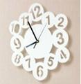 Clock deco acrylic wall sticker