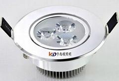 大功率LED3W天花灯