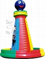 new designed inflatable sports inflatable climbing wall 2