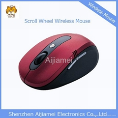 Promotional USB Optical Wireless Mouse for Computer Laptop Macbook