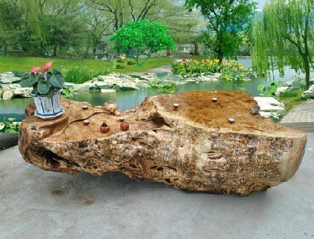 木雕根雕茶几 1