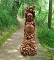 香樟木人物佛像