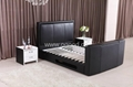 Fashion Leather Bed Designs TV Bed TB005