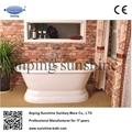 sw1003b cast iron bathtub