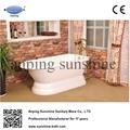 sw1004b cast iron bathtub