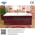 sw1011a cast iron bathtub