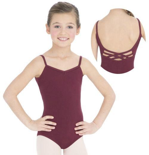 Child Single Camisole Ballet Leotard  1