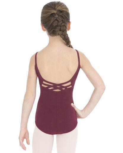 Child Single Camisole Ballet Leotard  3