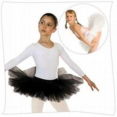 Child Ballet Half Tutu Skirt