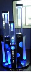 Acrylic display with lighting