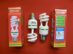spiral energy saving lamp,energy saving light,cfl bulb,energy efficient lamp